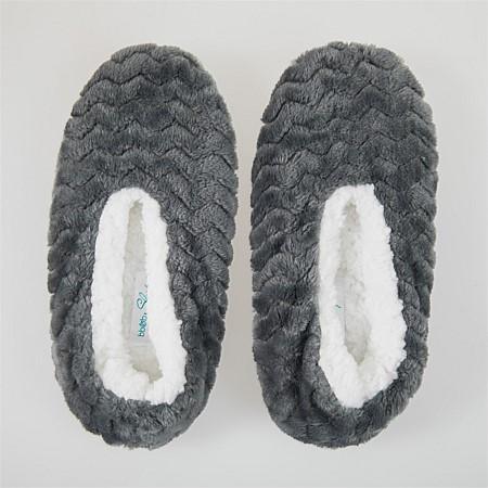 9cad5660816 bb b Sleep Textured Cozy Slippers ...