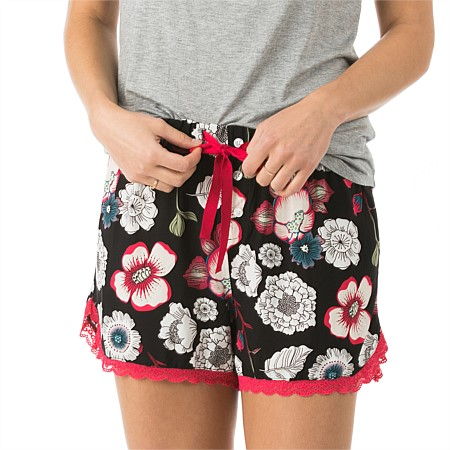 bb&b Sleep Botanical Lace Hem Boxers