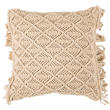 Istoria Home Liberty Macrame Cushion
