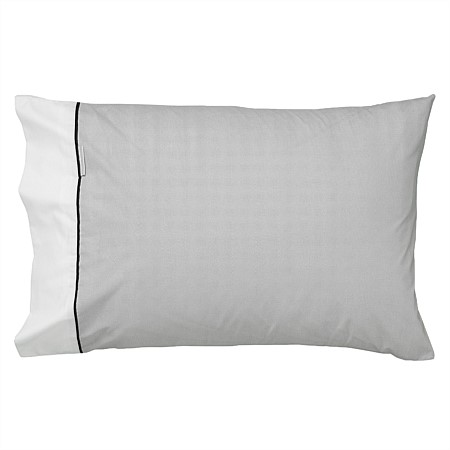 Logan & Mason Essex Pewter Pillowcase Pair