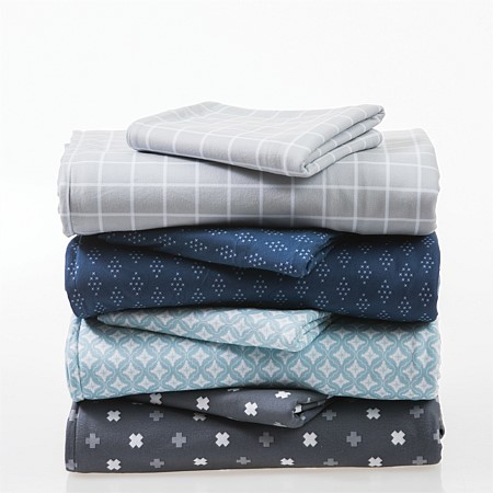Hush Printed Microflannel Sheet Sets