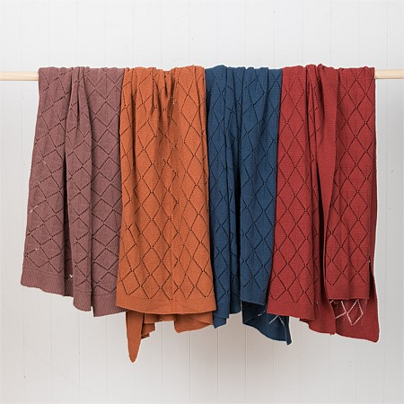 Solace Anne Textured Throw