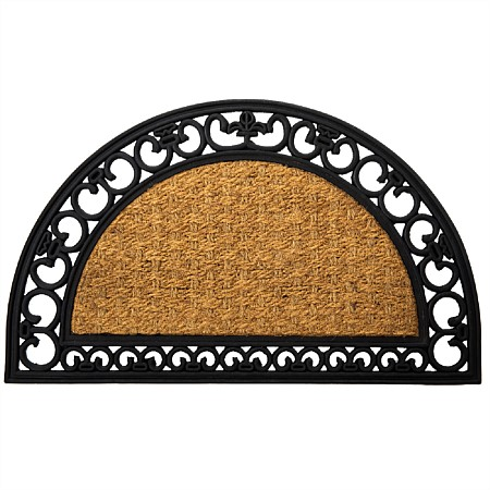 Home Co. Ash Patterened Edge Welcome Mat