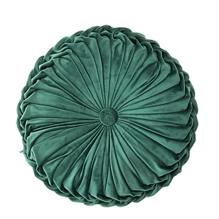 Design Republique Velvet Pleated Cushions
