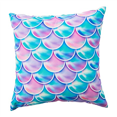 Junior Depot Mermaid Printed Cushion