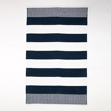 Junior Depot Sloth Striped Rug