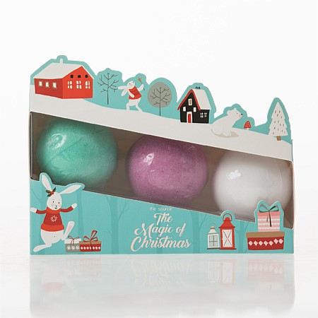 The Magic of Christmas Bath Fizzers 3 Pack