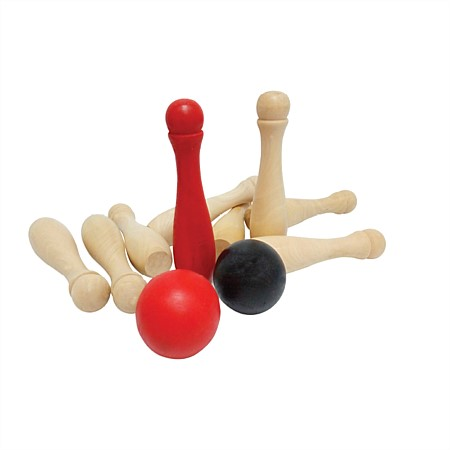 bb&b Outdoors Wooden Skittles Game