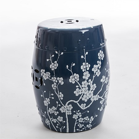 bb&b Outdoors Chinese Style Garden Stool Blue