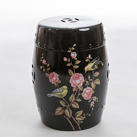 bb&b Outdoors Chinese Style Garden Stool Black