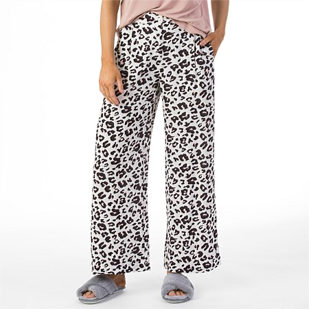 Simple & Sunday Wide Leg Printed Pants