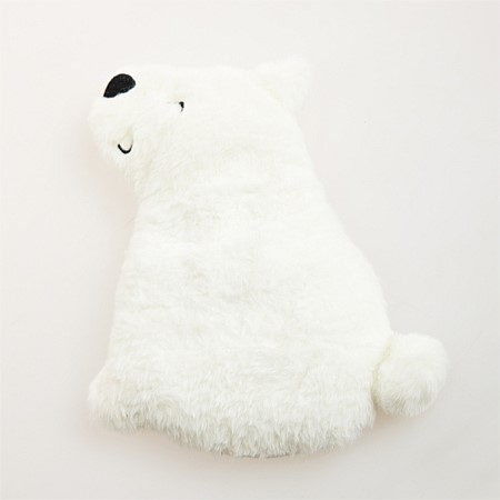 Home Chic Wheat Pillow Plush Polar Bear