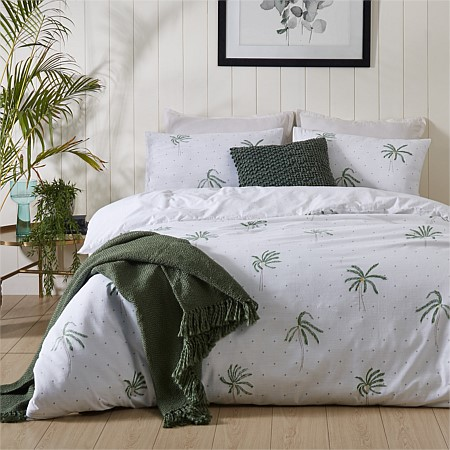 Istoria Home Miami Cotton Slub Duvet Cover Set