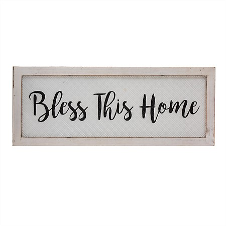 Solace Broadhurst Bless Wall Plaque