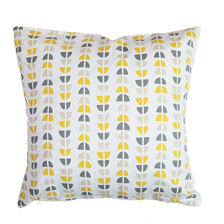 Home Co. Nestor Mustard Patterend Cushion