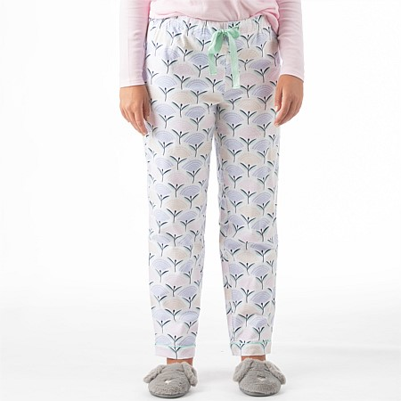 bb&b Sleep Women's Spring Flowers Pj Pant