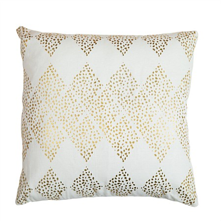 Solace Adler Gold Printed Cushion