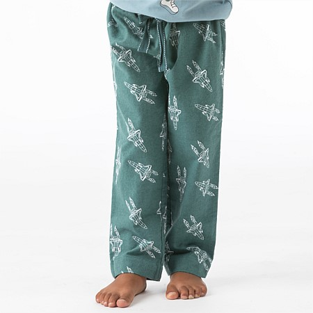 bb&b Kids Boy Blast Flannel Pant with Cuff