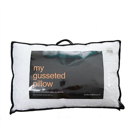 My Gusseted Pillow