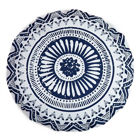 Home Co Carina Round Printed Cushion