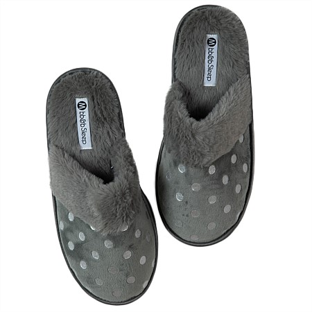 bb&b Sleep Summer Foil Spot Slippers
