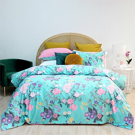 Design Republique Brunswick Velvet Duvet Cover Set