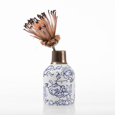 Design Republique Liberty Pattered Floral Vase