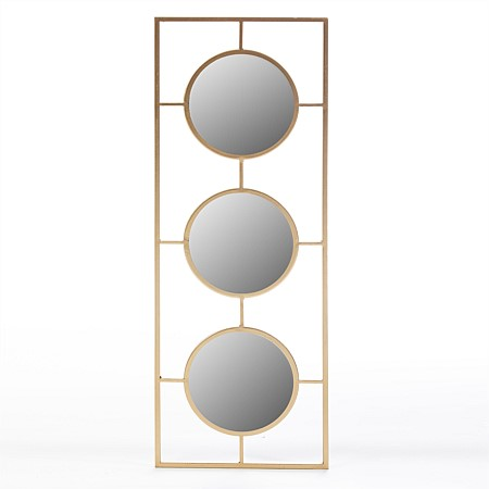 Design Republique Elly Triple Mirror