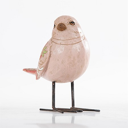 Design Republique Temple Pink Patterned Wing Bird