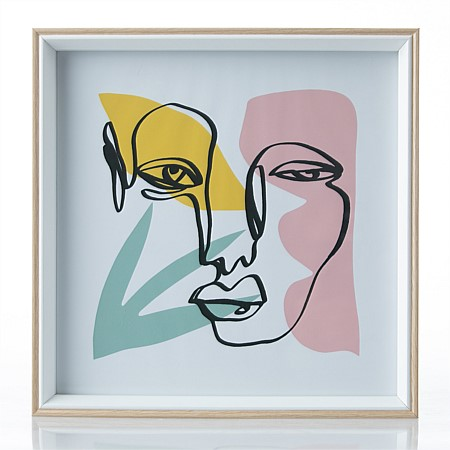 Home Chic Picasso Winking Lady Wall Art