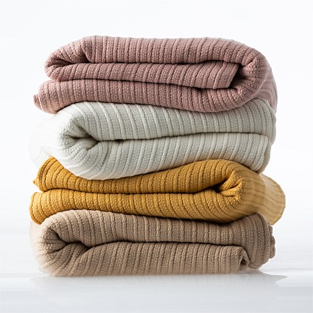 Istoria Home Mya Cotton Knit Blanket