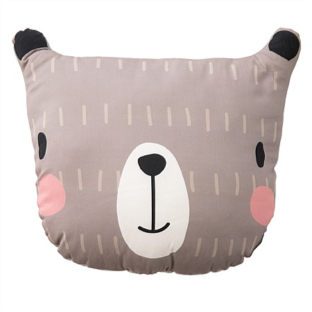 Niko & Co. Kids Bear Cushion