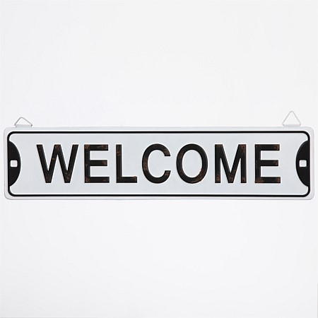 Home Co. Welcome Sign Wall Art