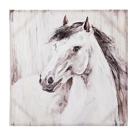Solace Misty Horse Wall Art