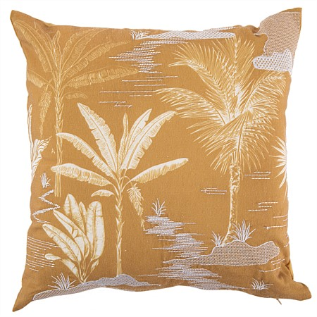 Design Republique Emery Palm Tree Cushion