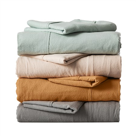 Hush Flannelette Fitted Sheet