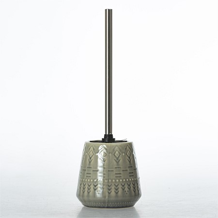 Design Republic Skandi Tribal Grey Toilet Brush Holder