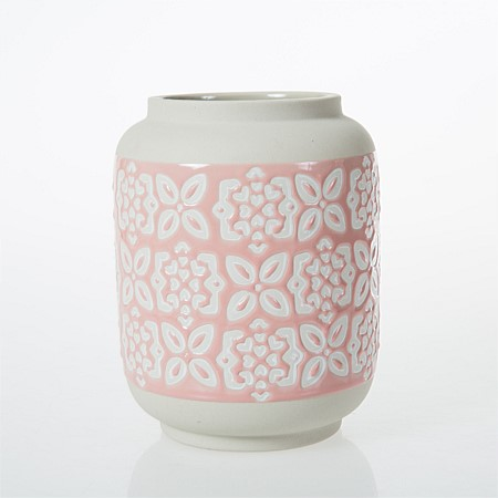 Butterfly Bliss Small Patterned Vase