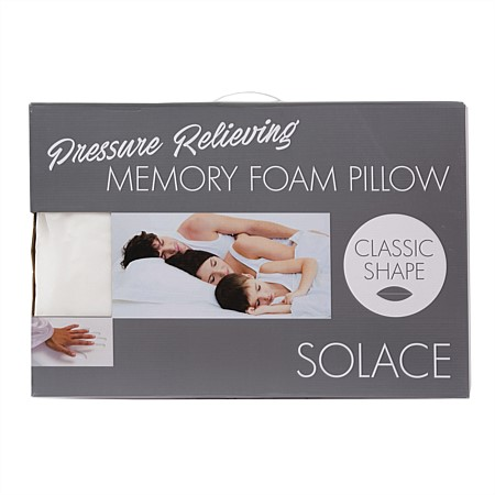 Solace Classic Memory Foam Pillow