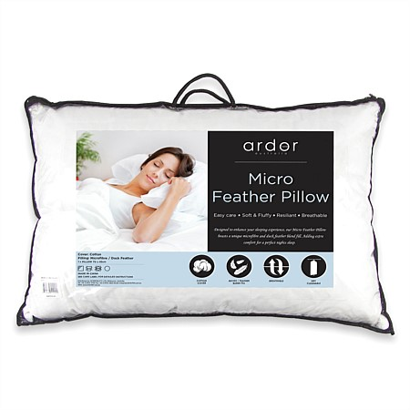 Ardor Microfeather Pillow