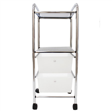Home Essentials 2 Drawer Trolley