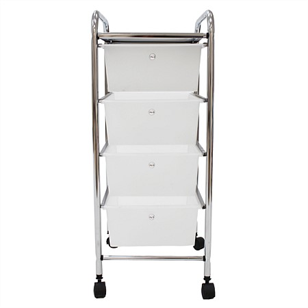 Home Essentials 4 Drawer Trolley