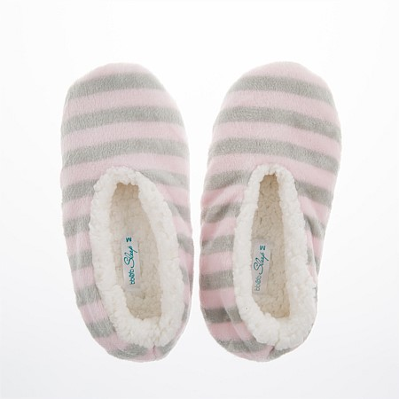 Stripe Cozy Slippers