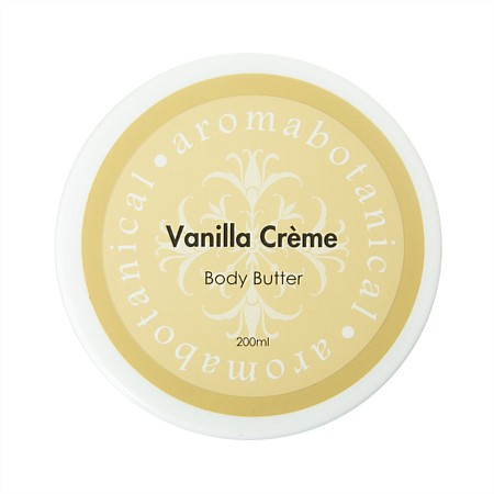 Aromabotanical 200ml Body Butter - Vanilla Creme