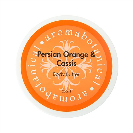 Aromabotanical 200ml Body Butter - Orange & Cassis