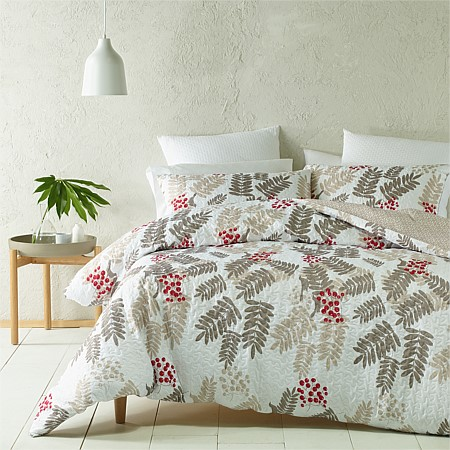 Phase 2 Cherry Heat Pressed Duvet Cover Set