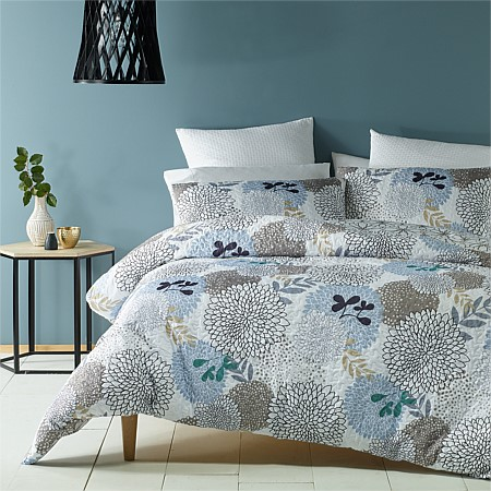 Phase 2 Dahlia Heat Pressed Duvet Cover Set