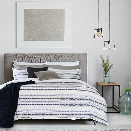 Ardor Idaho Embellished Duvet Cover Set