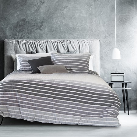 Ardor Rouche Embellished Duvet Cover Set