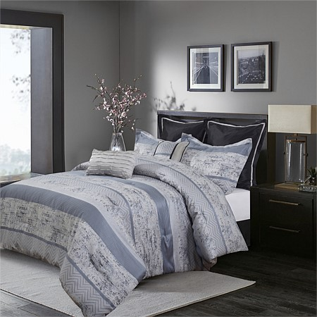 Bambury Alika 7pc Jacquard Comforter Set